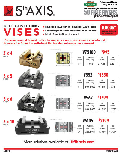 5th Axis Vises Flyer