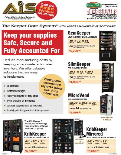 AIS Keeper Care System Flyer